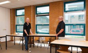 Jan en John vrijwilligers De Velderie Roermond